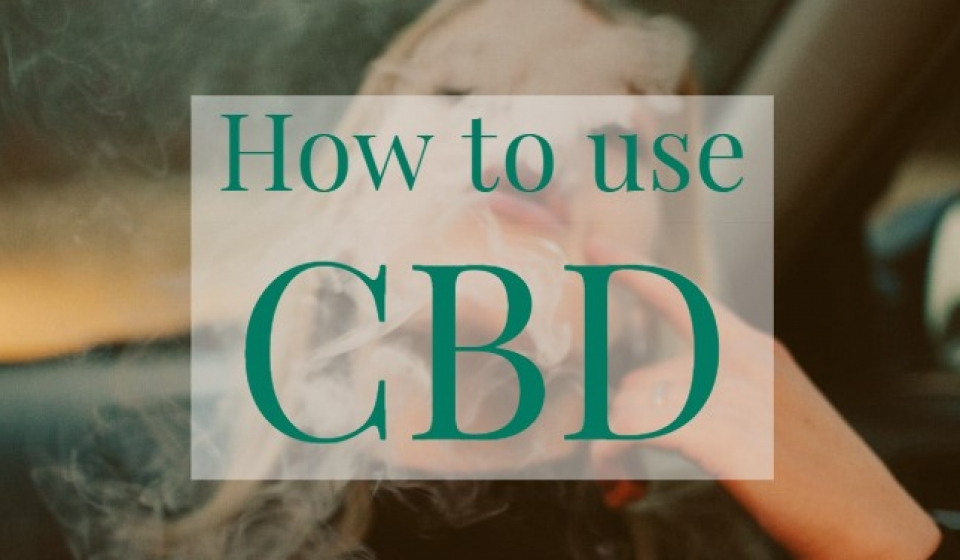 Blog - How to Use CBD