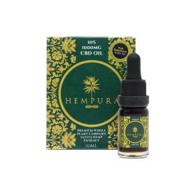 Hempura 1000mg CBD Full Spectrum Oil