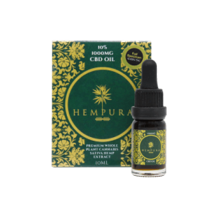 Hempura 1000mg CBD Oil