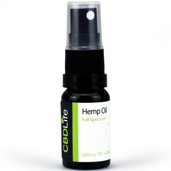 CBD Life Hemp Oil Spray 1000mg