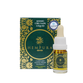Hempura 500mg Broad Spectrum Vape Juice