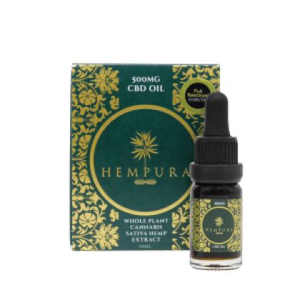 Hempura 500mg CBD Full Spectrum Oil