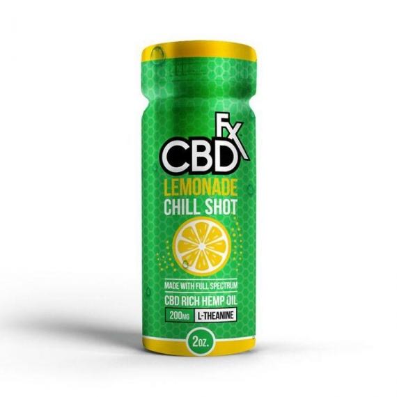 CBDfx Shot Lemonade