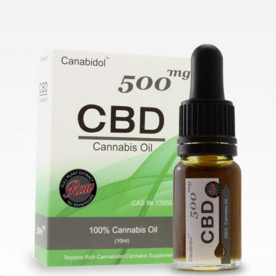 Canabidol CBD Oil Dropper 500mg
