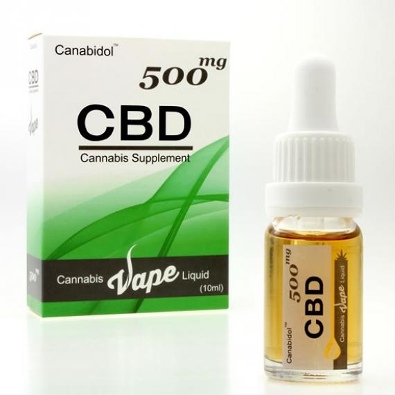 Canabidol CBD Vape Liquid 500mg