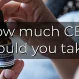 Blog - How much CBD should you take?