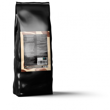 CBD infused coffee mock whole bean 100g