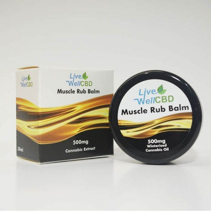 CBD Muscle Rub Balm