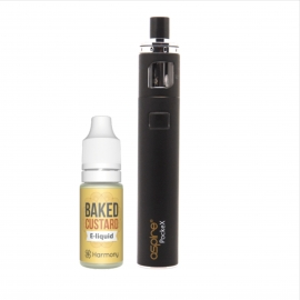 CBD Vape Starter Kit containing Pockex and CBD E-Liquid