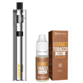 Harmony CBD E-Liquid and Aspire Pockex