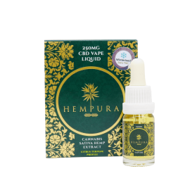 Hempura 250mg Broad Spectrum Vape Juice