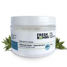 CBD Bath Soak Stress Reliever