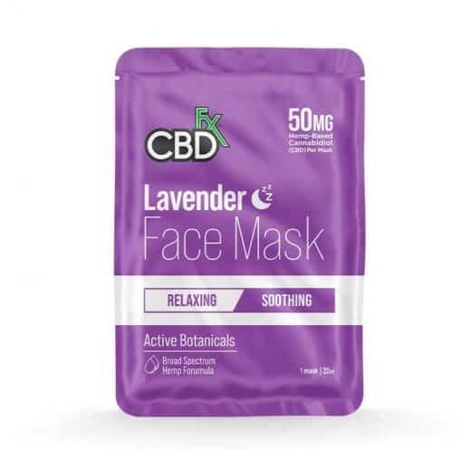 CBD Lavender Face Mask