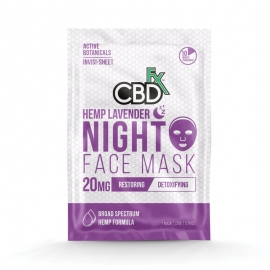 Lavender Night Time CBD Face Mask