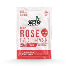 CBD Facemask Rose