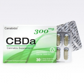 Canabidol CBDa Oral Capsules