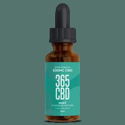 365 CBD Oil Mint 500mg