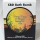 LVWell CBD Bath Bomb - Ylang Ylang and Ginger