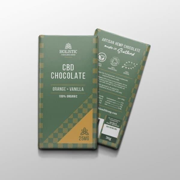 Holistic Highland Hemp Organic CBD Chocolate