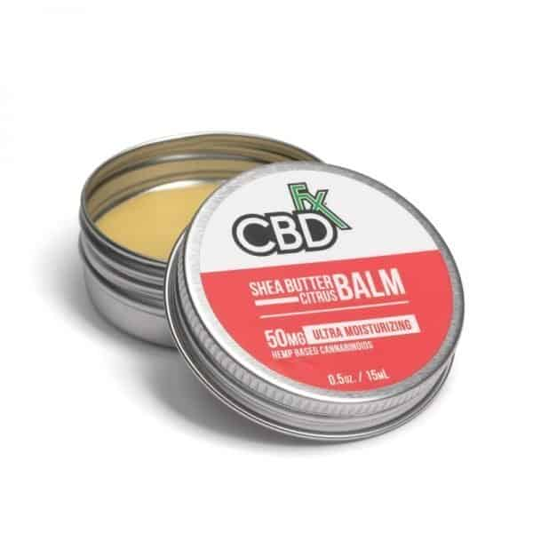 CBDfx Shea Butter Citrus Balm Mini
