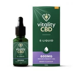 Vitality Broad Spectrum CBD E-Liquid Berry 600mg