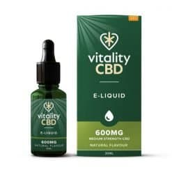 Vitality Broad Spectrum CBD E-Liquid Natural