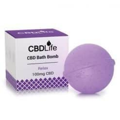 CBDLife Bath Bomb 100mg Relax