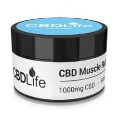 CBDLife Muscle Rub 1000mg Refresh