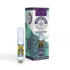 Highkind CBD Distillate Vape Carts Limited Edition Purple Double OG