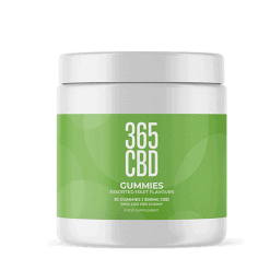 365 CBD Gummies 300mg product shot