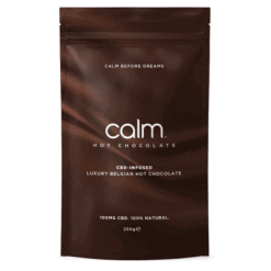 Calm CBD Infused Belgian Hot Chocolate Flakes
