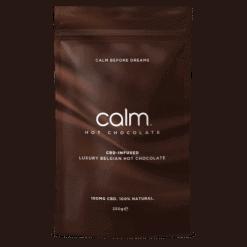 Calm CBD Infused Belgian Hot Chocolate Flakes