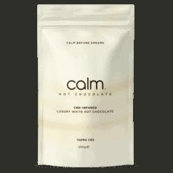 Calm Luxury CBD Infused Hot Chocolate White Pack