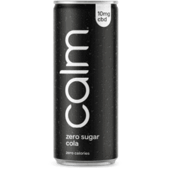 Calm Drinks Zero Sugar Cola CBD Infused Product Image